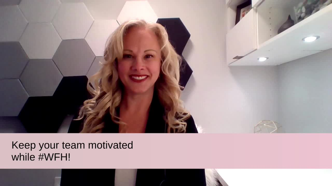 Keep your team motivated while WFH