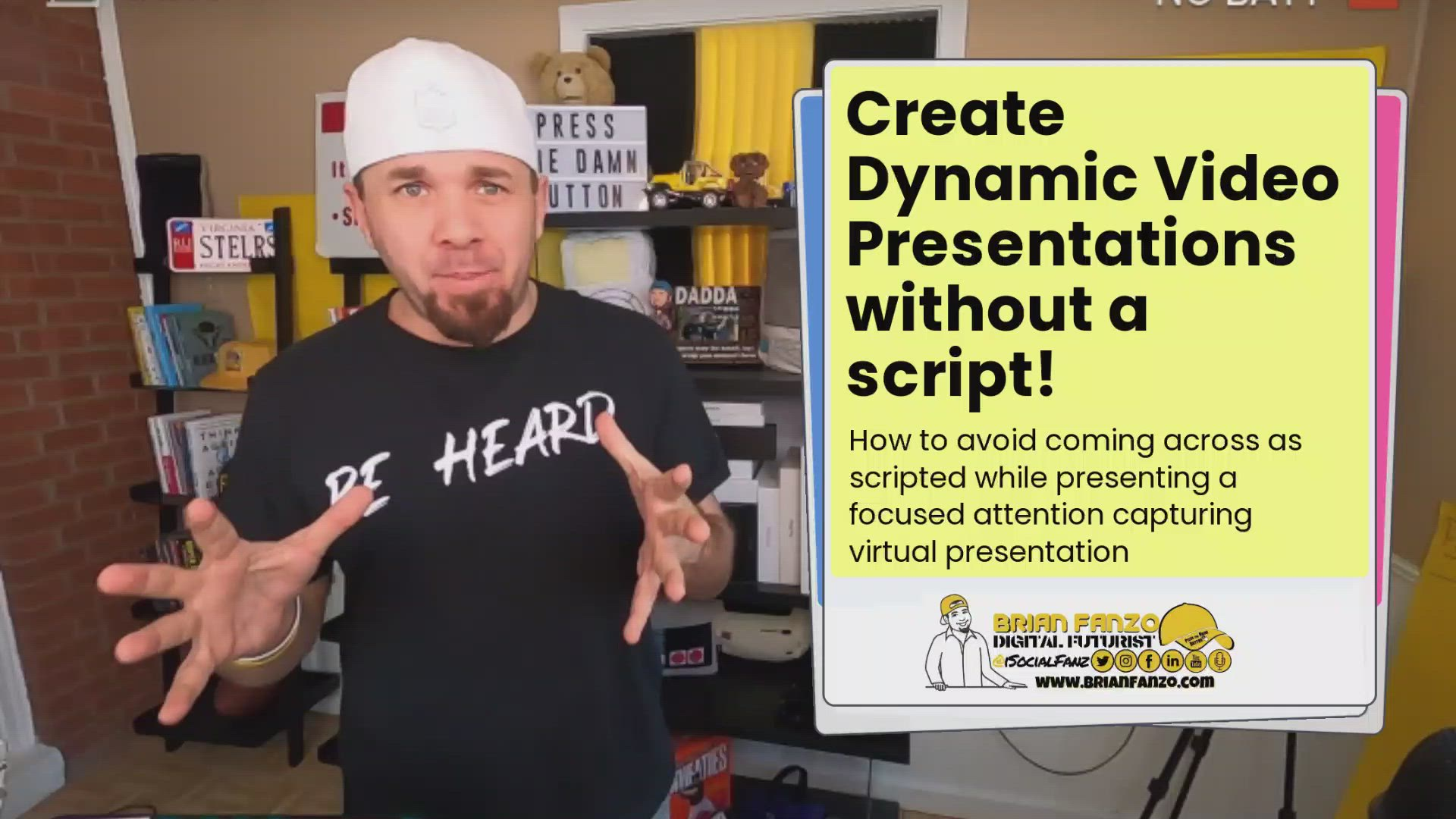 How to create dynamic video presentations