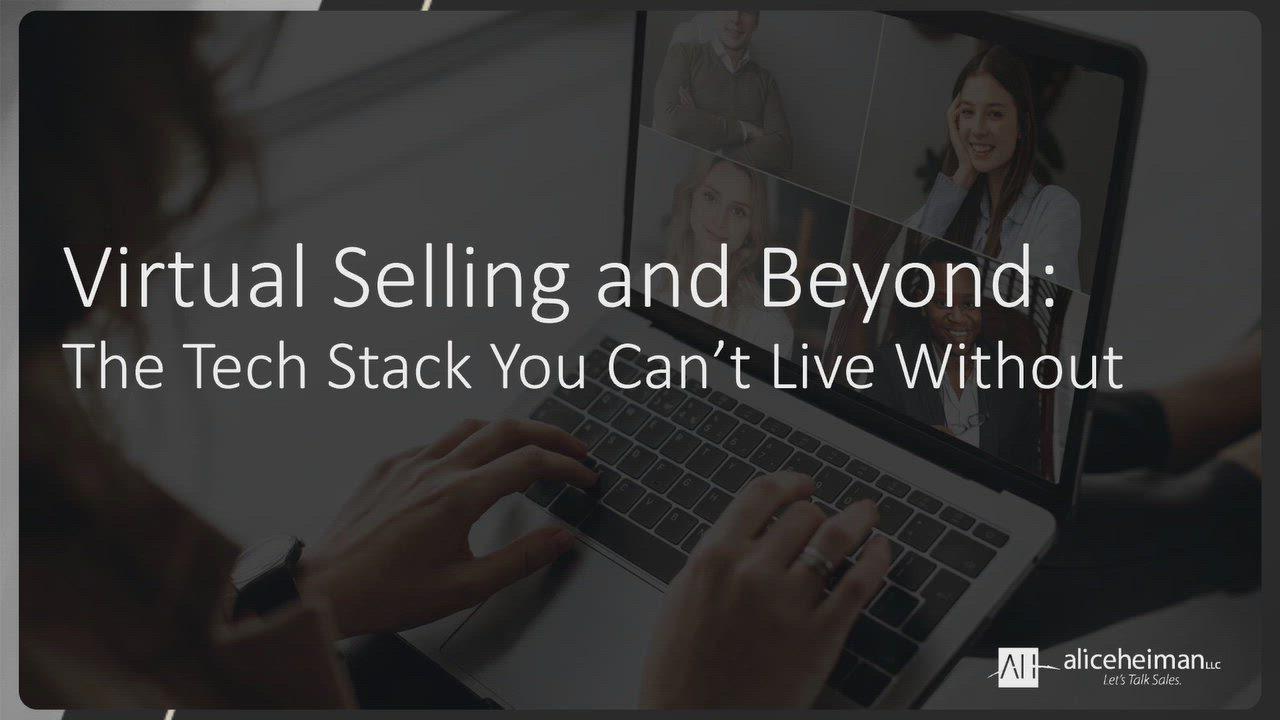 Beyond virtual selling